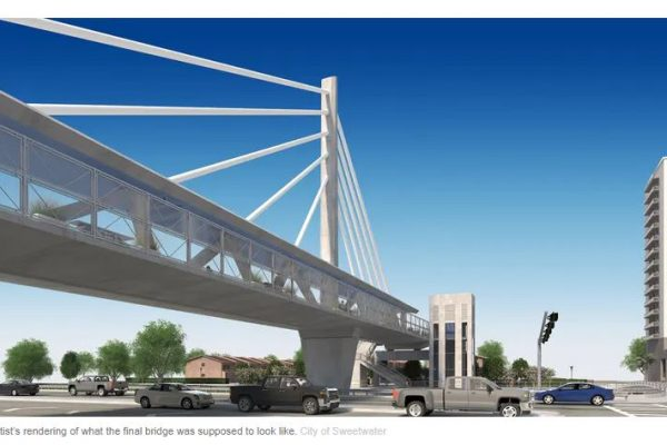 Rendering of Florida International University Bridge